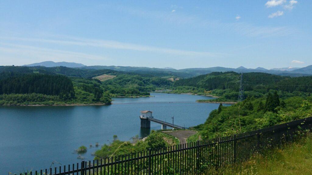 小田ダム湖畔パークゴルフ場