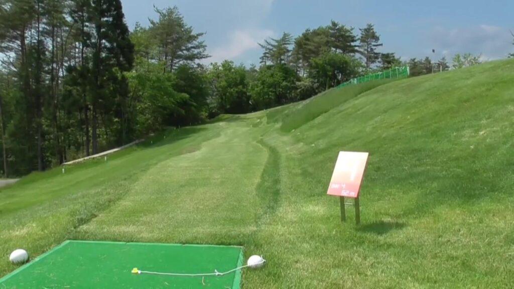 高森パークゴルフ場たかもりBコース4番ホール